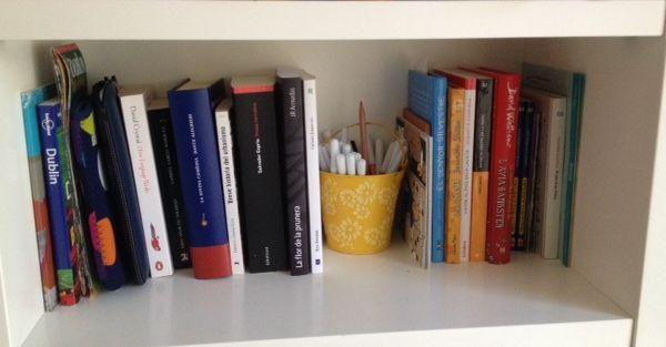 prestatge llibres