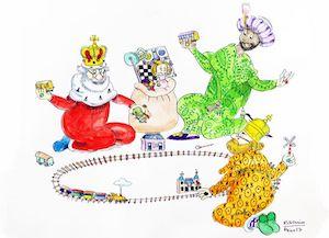 Llista de reis 2019, literatura xinesa per als Reis